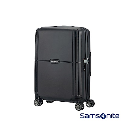 Samsonite新秀麗 20吋Orfeo 簡約方正線條PC嵌入式TSA海關鎖登機箱(黑)