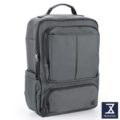 74盎司 U系列 雙口袋商務後背包[G-1068-U-M]灰