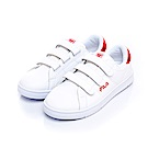 FILA 女款潮流復古運動鞋-紅 5-C905S-112
