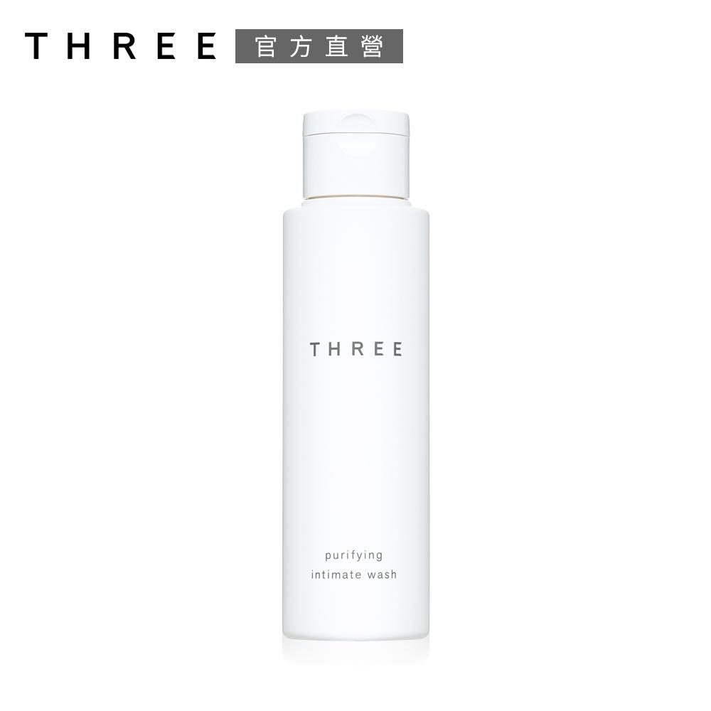 (即期品)THREE 純淨私密柔浴露 100mL●效期至2022.07