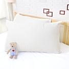 亞曼達Amanda 100%防水透氣抗菌枕頭保潔墊 枕頭套 -2入 (白色) -快速到貨
