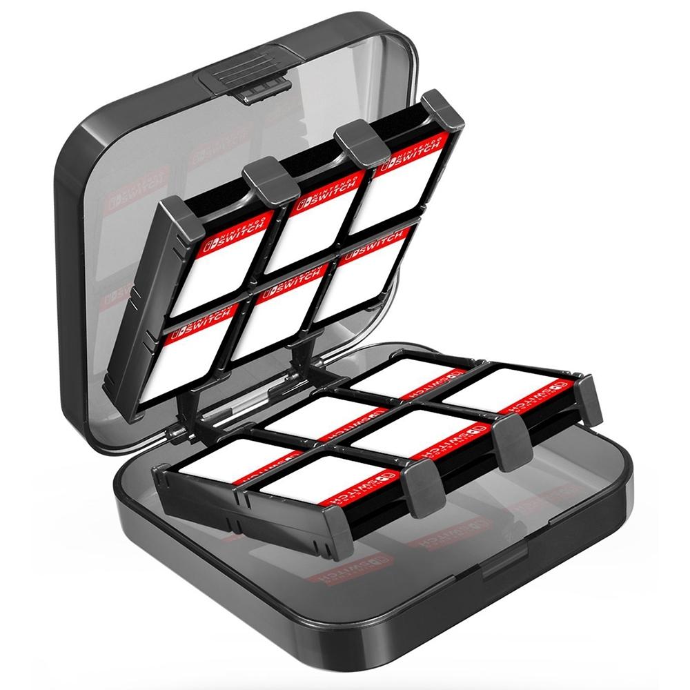 pump 任天堂Switch 24+2入遊戲卡夾收納盒 MircoSD卡收納 遊戲卡帶
