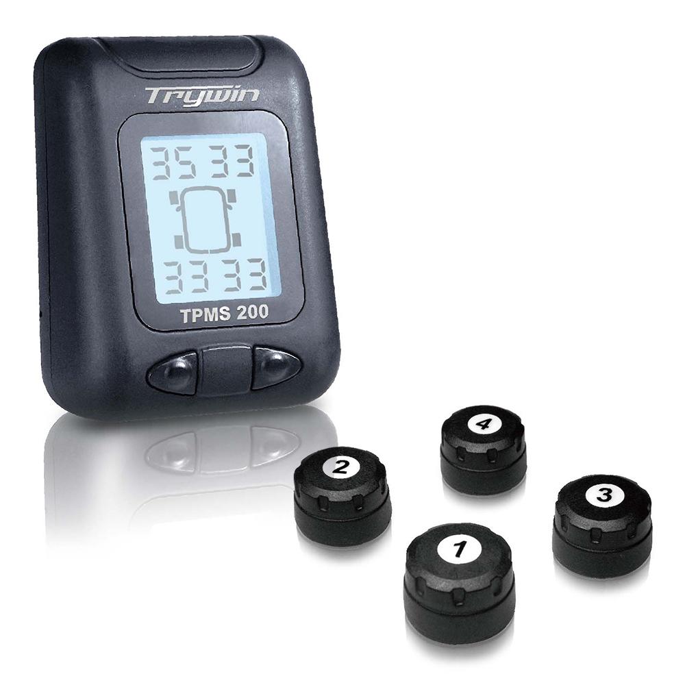 (福利品) Trywin TPMS 200 無線胎壓胎溫偵測器 @ Y!購物