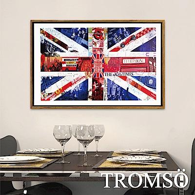 TROMSO北歐風尚板畫有框畫-時代英倫40X60CM