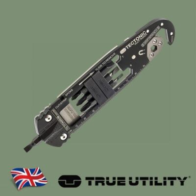 【TRUE UTILITY】英國多功能多尺寸起子板手工具組TECTONIC