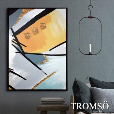 TROMSO 時尚風華抽象有框畫大幅-文化交響曲W969