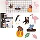 kiret派對佈置 三角旗拉旗-熱帶雨林動物(贈派對專用吹不熄蠟燭10入) product thumbnail 1