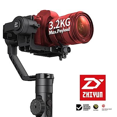 贈跟焦器 ZHIYUN 智雲 Crane 2 雲鶴 2 單眼用手持三軸穩定器 (公司貨)