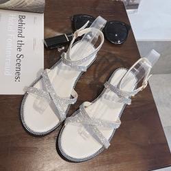 KEITH-WILL時尚鞋館 狂賣千雙學院風平底涼鞋 杏