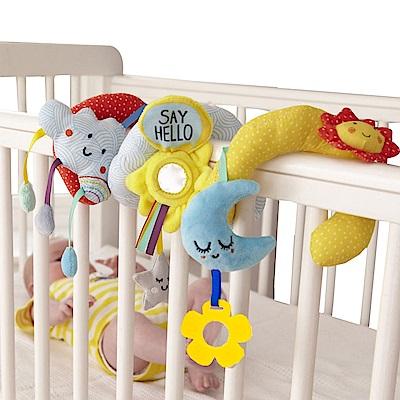 JoyNa嬰兒床繞 星星月亮床掛 安全座椅推車挂件