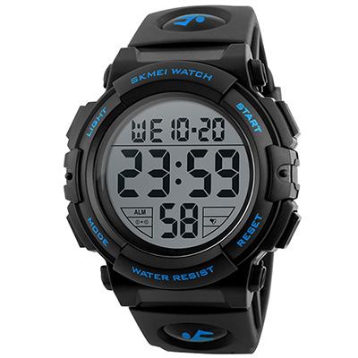 SKMEI 時刻美1258-大數字戶外多功能運動電子錶(3色任選)