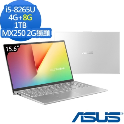ASUS X512FL 15.6吋筆電 i5-8265U/12G/1TB/MX250/特仕