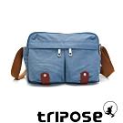 tripose MOVE系列多格層機能斜背包 天空藍