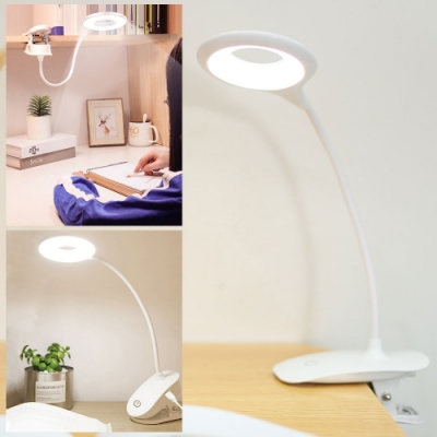 EZlife 充電式智能觸摸調光夾燈