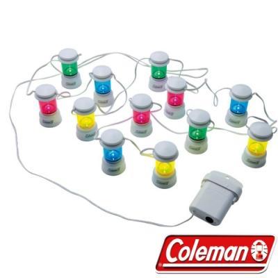 Coleman 3164彩色 LED串燈 聖誕燈飾/露營裝飾燈/戶外警示燈