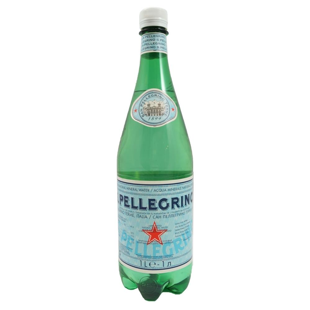 (即期品)S.Pellegrino聖沛黎洛 天然氣泡礦泉水-寶特瓶(1000mlx12入)