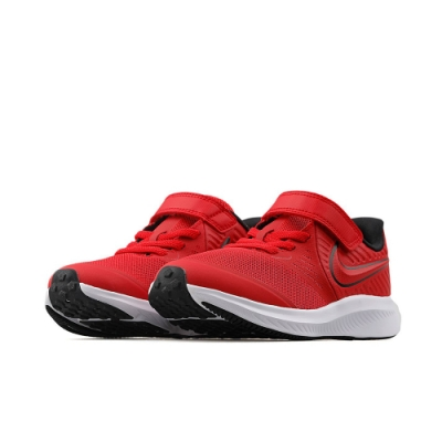 NIKE 運動鞋 魔鬼氈 慢跑 中童 兒童 童鞋 紅 AT1801-600 STAR RUNNER 2 PSV