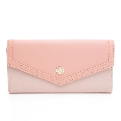 PLAYBOY-  翻蓋長夾 Envelope系列 -粉色