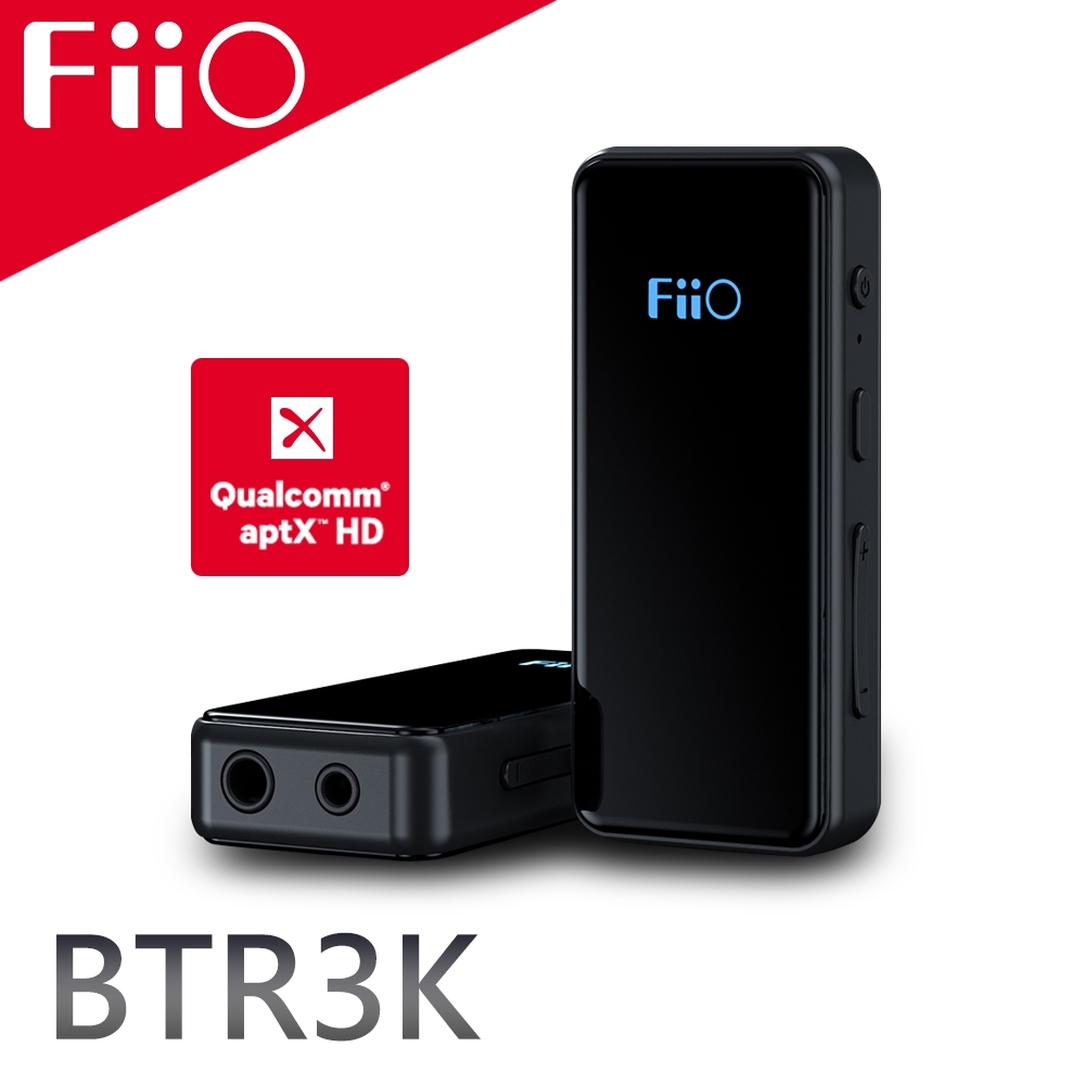 FiiO BTR3K 平衡Hi-Fi藍牙音樂接收器