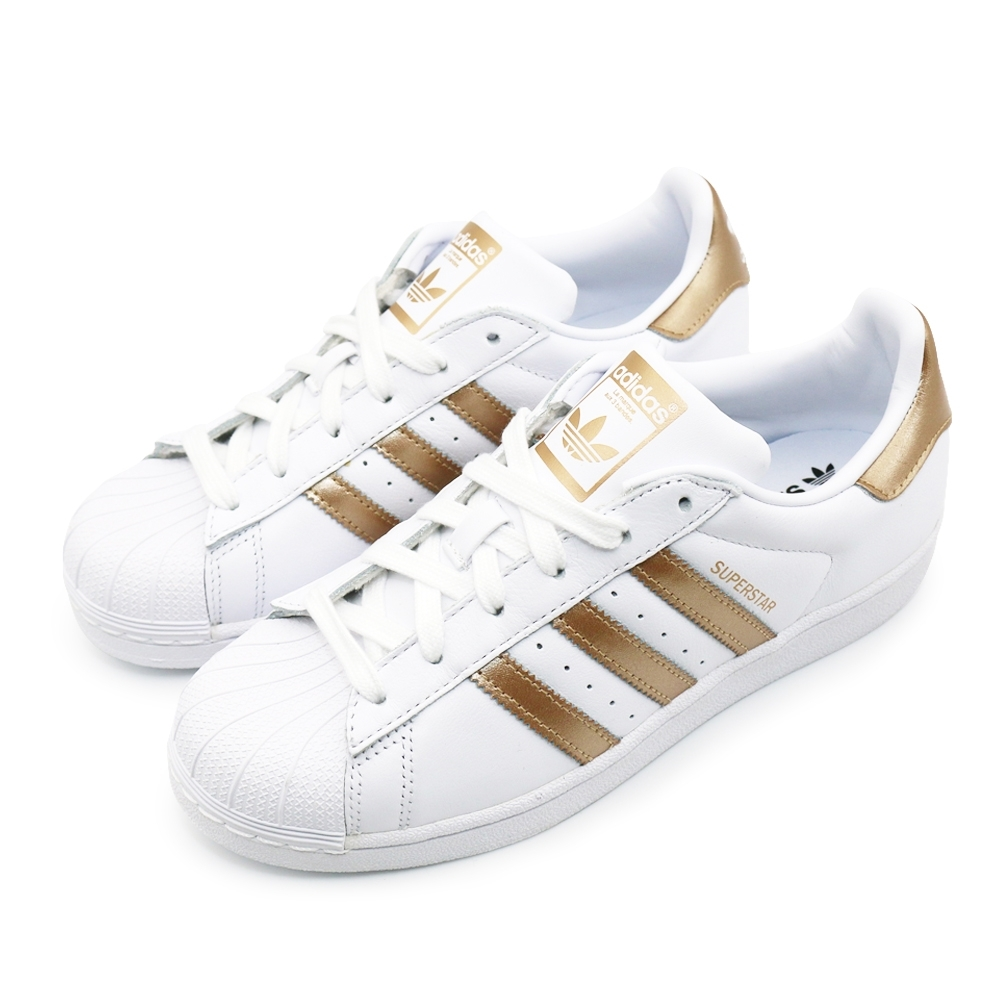 ADIDAS  SUPERSTAR 女休閒鞋-EE7399