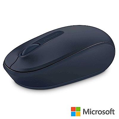 微軟 無線行動滑鼠 1850 - 神秘藍 盒裝