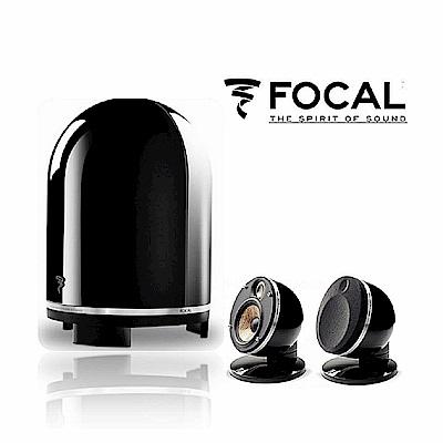 法國 FOCAL Dome Flax 2.1聲道鋼琴烤漆 造型系列喇叭