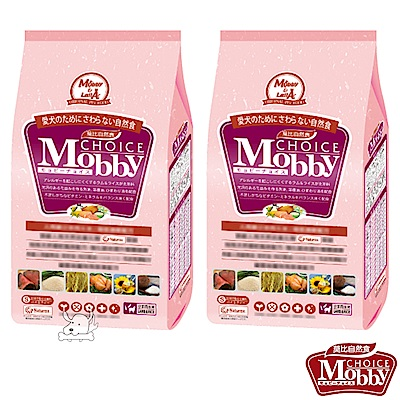 Mobby 莫比 羊肉+米 小型幼母犬配方飼料 3公斤 X 2包