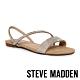 STEVE MADDEN-NELLIE-R 閃鑽交叉條帶一字平底涼鞋-銀色 product thumbnail 1