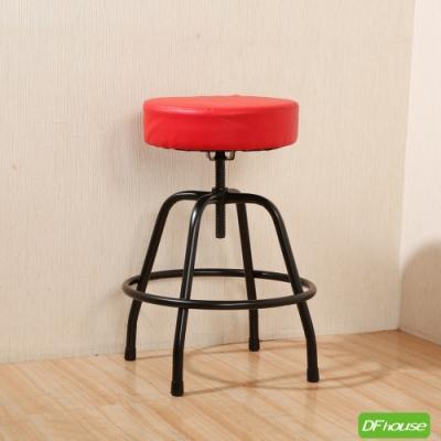 《DFhouse》麥肯基-泡棉旋轉椅-4色 寬44*深44* 高56-69