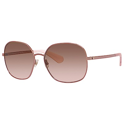 Kate Spade CRELISA/S-潮流方框太陽眼鏡 粉色