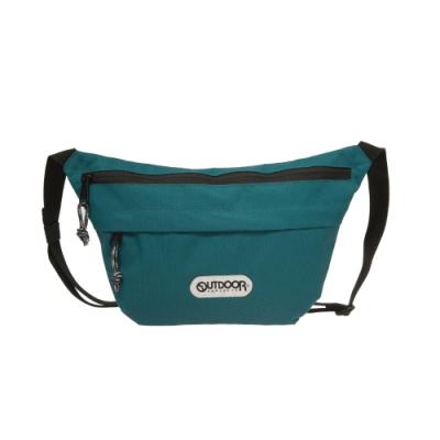 【OUTDOOR】二用側背包-藍綠色 OD191106BG