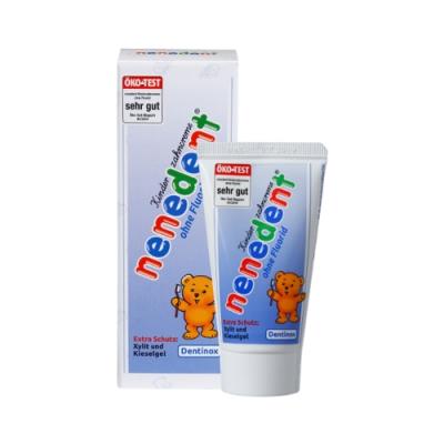 Baan貝恩 Dentinox木糖醇兒童牙膏 (不含氟配方)/50ml