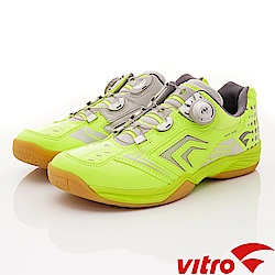 Vitro韓國專業運動品牌-NIVA-FLEX羽球鞋-萊姆黃(男)