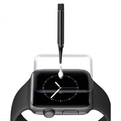 Cooyee Apple Watch 液態膠玻璃貼(含燈)