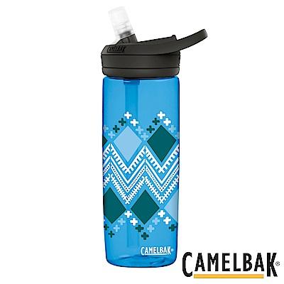 《CAMELBAK》多水吸管水瓶 菱形斑紋 600ml (CB1642403060)