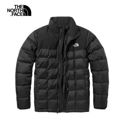 The North Face北面男款黑色防水透氣戶外羽絨外套|496WJK3