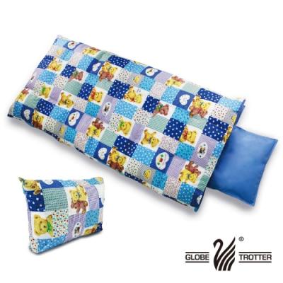 【遊遍天下】MIT後背式保暖羽毛絨兒童睡袋(附可拆式枕頭)