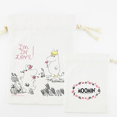 Moomin 02獻上我的愛(束口袋-中)
