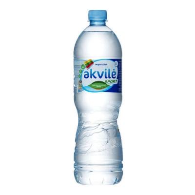 【立陶宛akvile】愛可麗-天然鹼性礦泉水(1000ml*12瓶)
