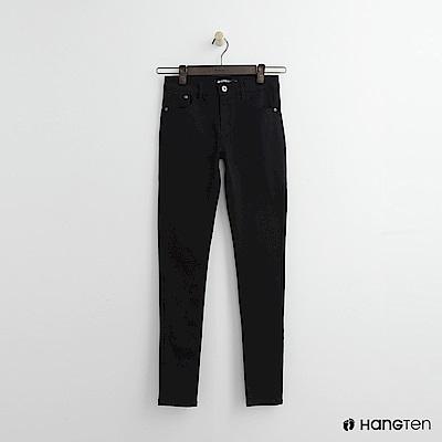 Hang Ten - 女裝 - 純色修身長褲 - 黑