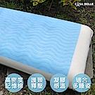 法國Casa Belle 凝膠感溫記憶標準枕 -二入