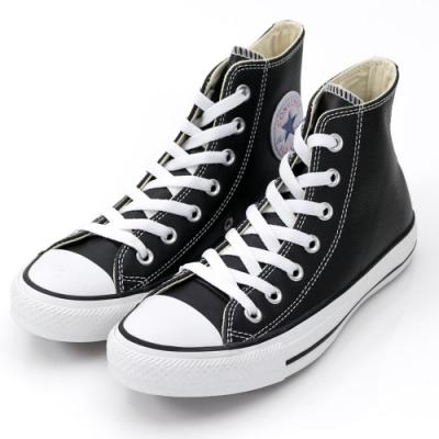 CONVERSE ALL STAR 男女款 高筒帆布鞋-黑 132170C