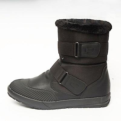 【AIRKOREA韓國空運】正韓防風鋪棉保暖內鋪毛中筒靴短靴-黑