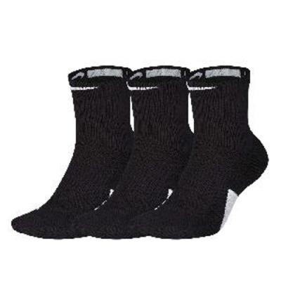 NIKE 籃球襪 Elite Mid 3 Pack 3雙一入 黑白2色長襪 SX7625100_3 SX7625013_3