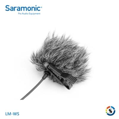 Saramonic楓笛 LM-WS 領夾式麥克風防風毛套