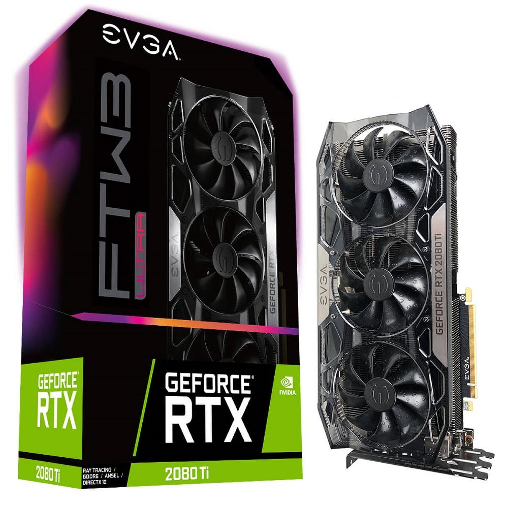 艾維克EVGA RTX 2080Ti 11GB FTW3 ULTRA BP GAMING