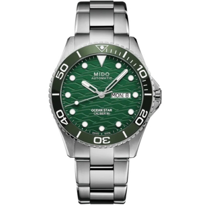 MIDO美度 Ocean Star 200C海洋之星 廣告款陶瓷圈潛水機械錶(M0424301109100)