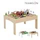 [時時樂限定34折] Teamson 85件木製小火車軌道遊戲桌組 product thumbnail 1