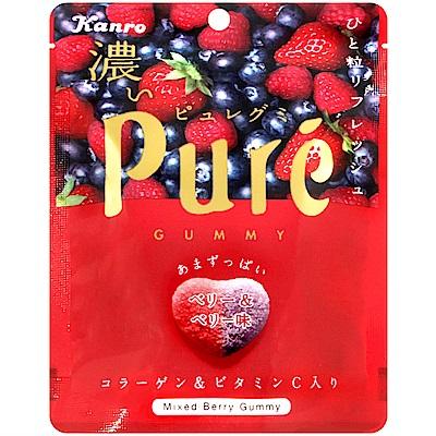 Kanro甘樂 Pure綜合莓果軟糖(52g)