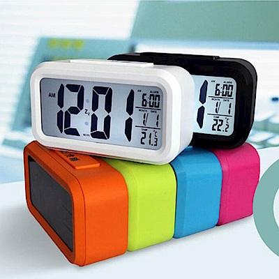 E-dot 多功能LED感光智慧鬧鐘(三色)